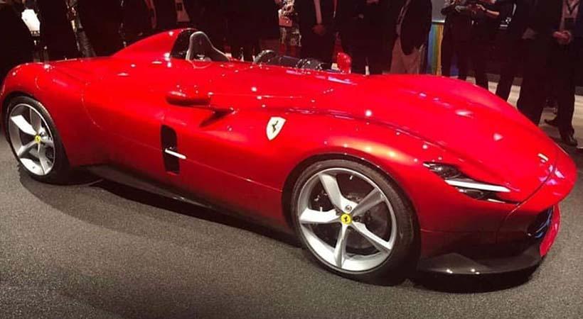 Primeras imágenes del Ferrari Monza