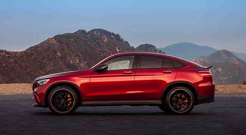Mercedes-AMG GLC 63 Sport Coupé 2018