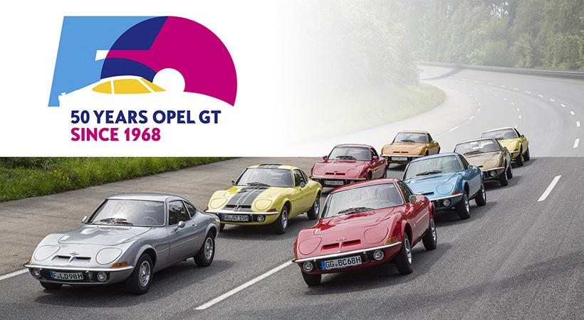 Feliz 50 cumpleaños, Opel GT