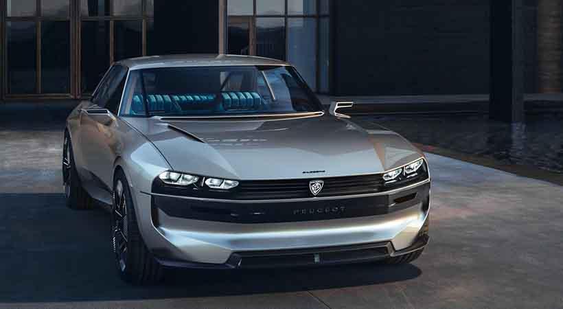 Peugeot E Legend Concept Impresionante Auto El 233 Ctrico Con