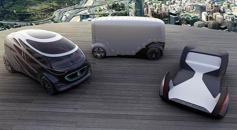 Mercedes-Benz Vans Vision URBANETIC, movilidad del futuro