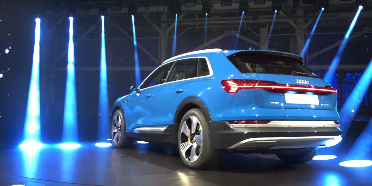 Debut global Audi e-tron