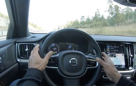 Demostración Volvo Pilot Assist