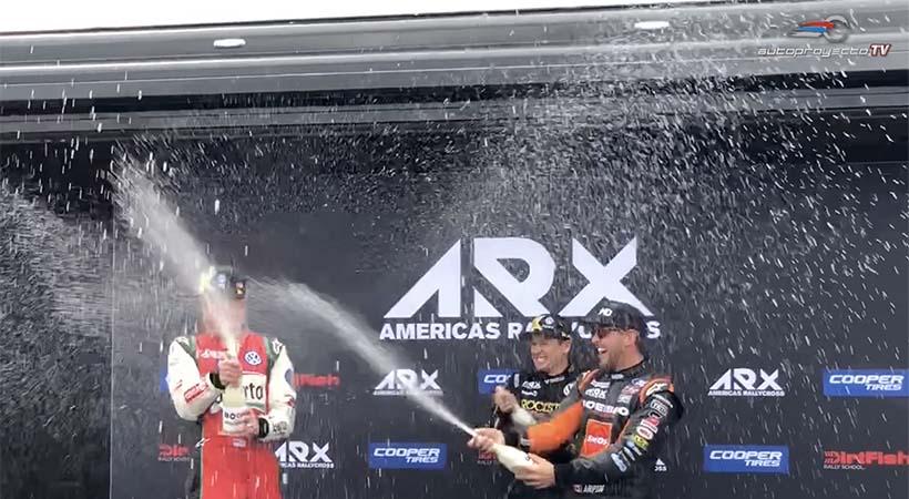 Volkswagen campeón Americas Rallycross 2018
