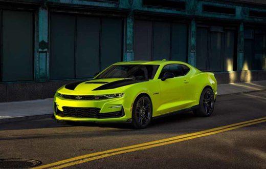 Chevrolet Camaro SS 2019 Yellow Shock, listo para debutar en el SEMA Show