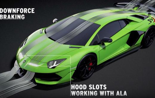 ALA 2.0 del Lamborghini Aventador SVJ