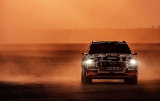 Test Drive Audi e-tron prototype