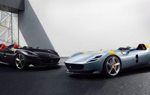 Ferrari Monza SP1 y SP2, debut en el Auto Show de París