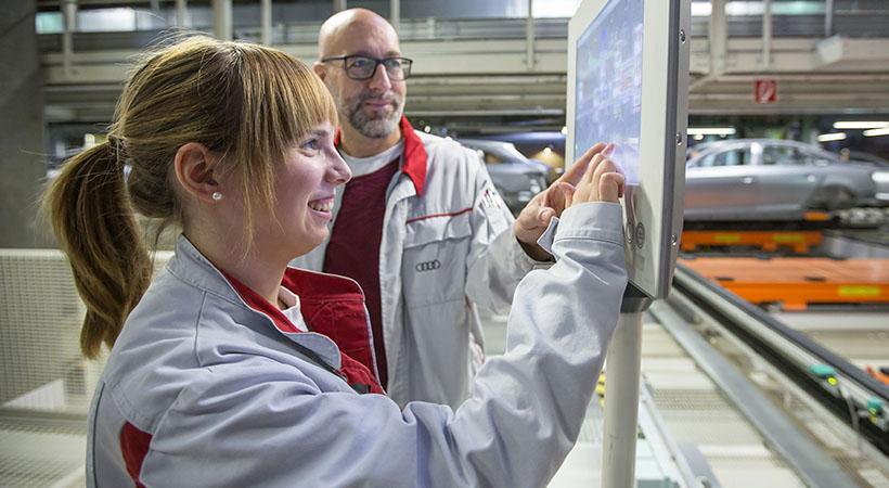 Nueva generación de ingenieros Audi para la era eléctrica y digital