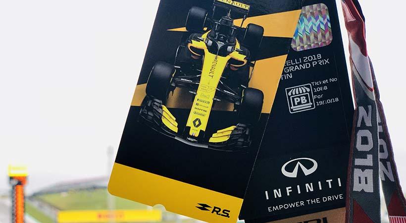 Infiniti acelera a fondo en Formula 1 con Renault Sport
