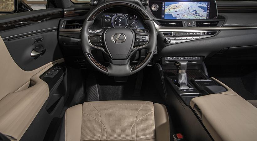 Lexus ES 300h con asientos perfectos