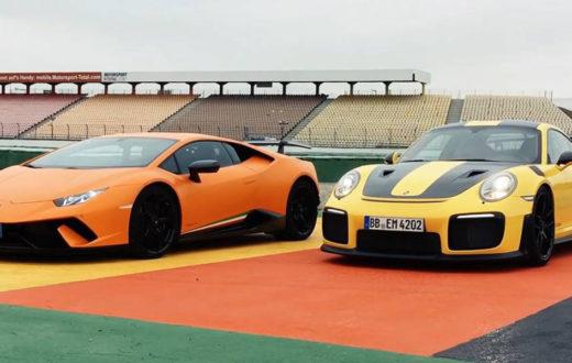 Los mejores videos de Lamborghini contra el mundo