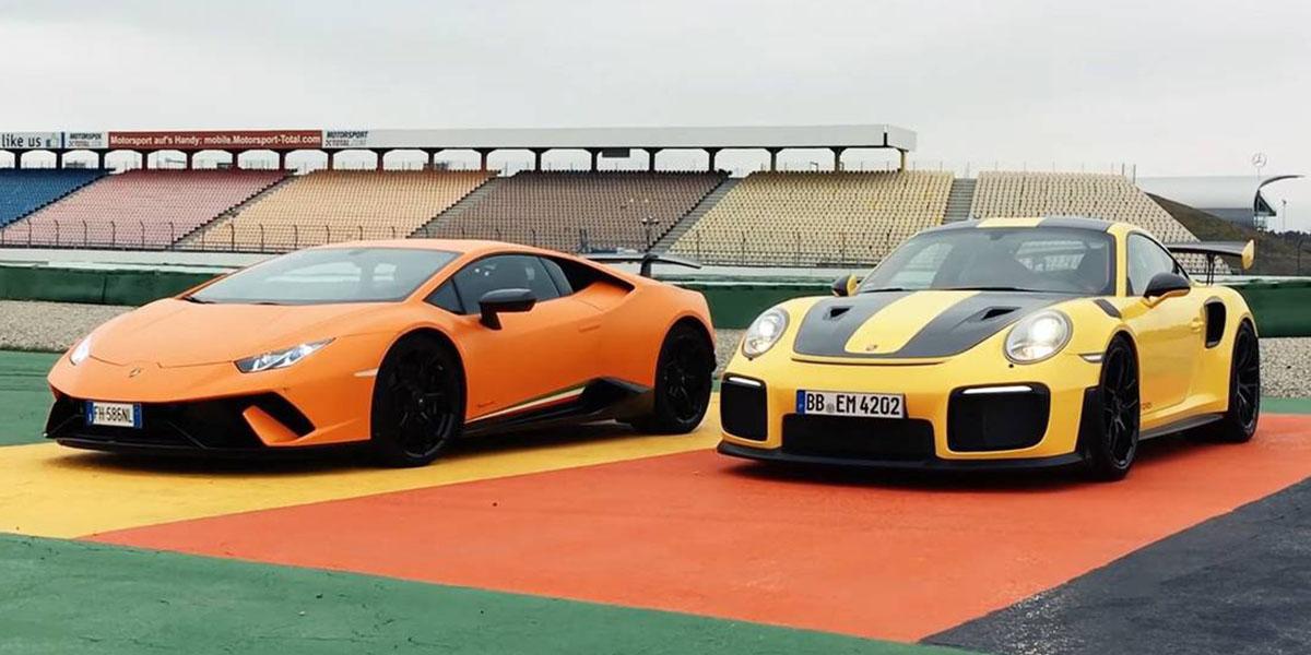 Los mejores videos de Lamborghinicontra el mundo