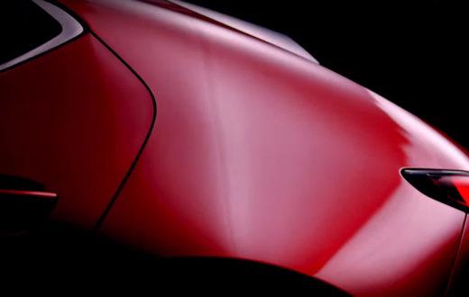 Primer Teaser del Nuevo Mazda3 2019
