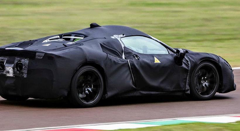 Nuevo Ferrari Híbrido