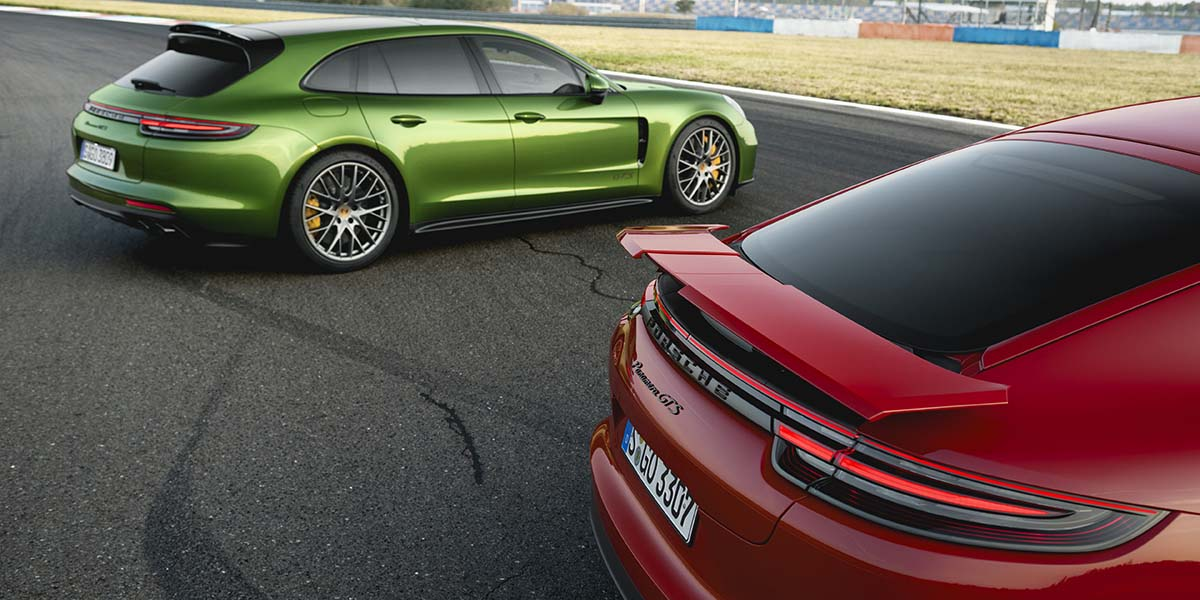 Porsche Panamera GTS y Panamera GTS Sport Turismo