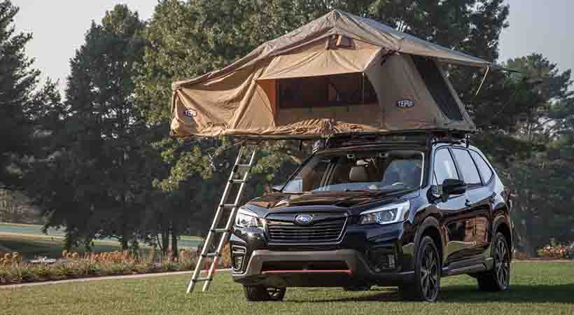 video Subaru Forester Limited 2019