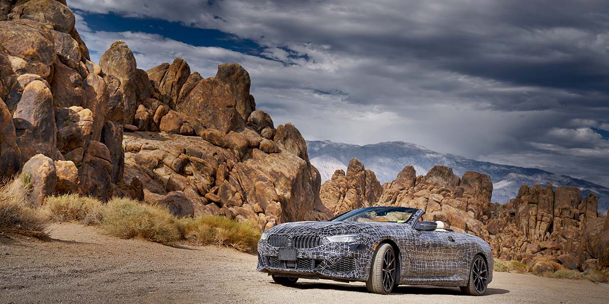 Test Drive extremo BMW 8 Series Cabrio