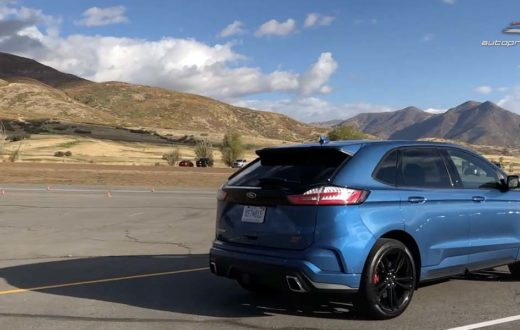 Video Test Drive Ford Edge y Ford Edge ST 2019 en Park City, Utah