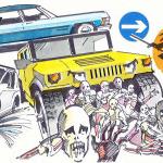 Top 5 autos para sobrevivir el Apocalipsis Zombie