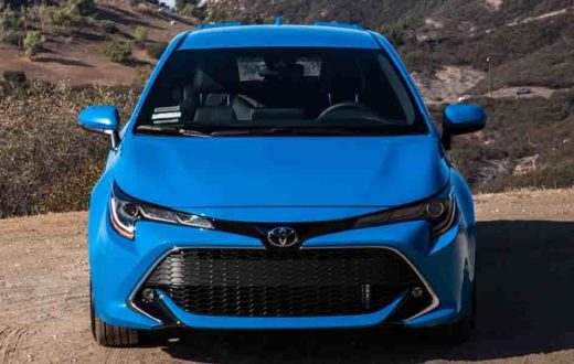 Video Toyota Corolla Hatchback 2019