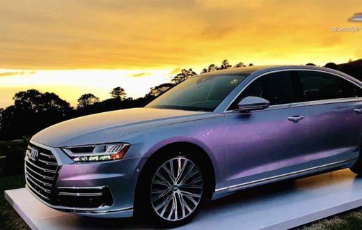 Video Audi A8 2019