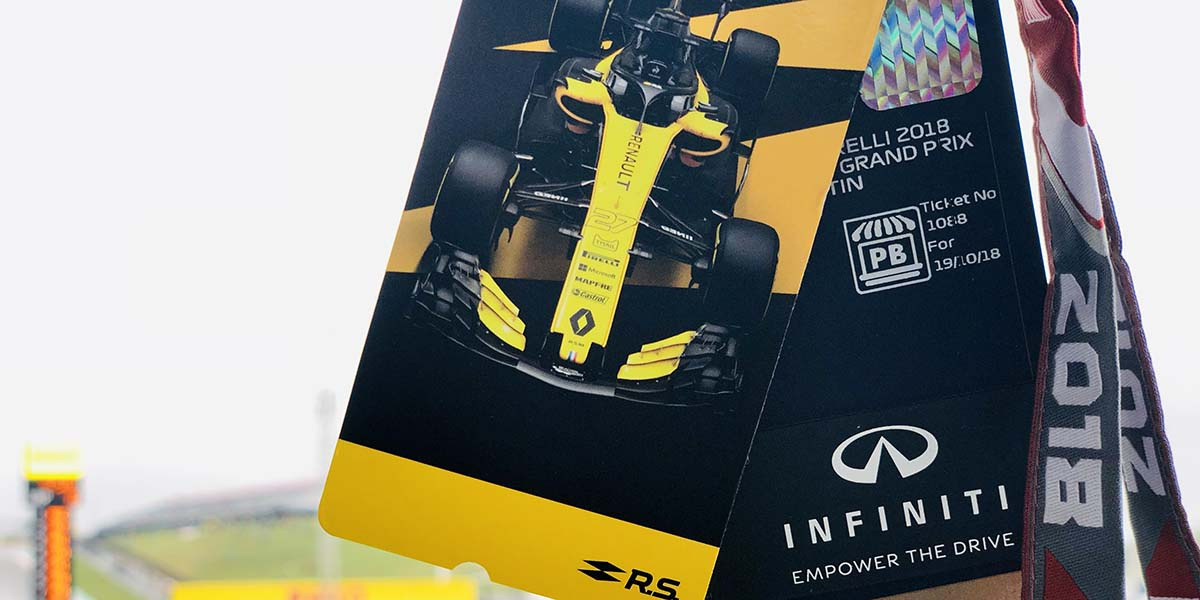 Infiniti acelera a fondo en la Formula 1