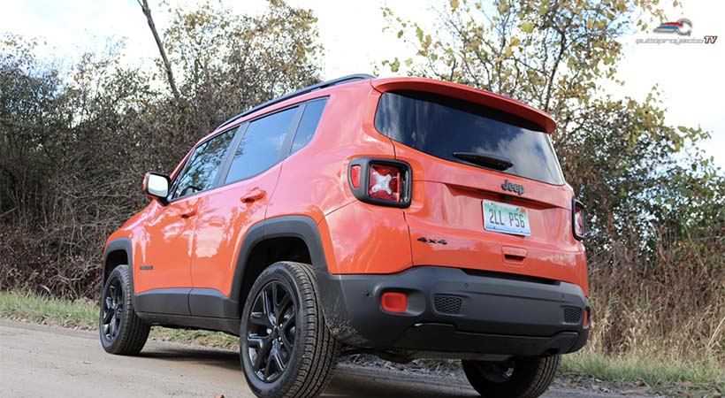 Test Drive Jeep Renegade Latitude 2018