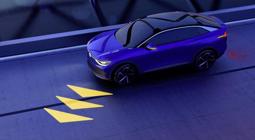 luces del futuro Volksweagen