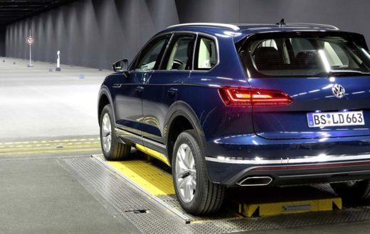 Luces del futuro Volkswagen salvarán vidas además de iluminar
