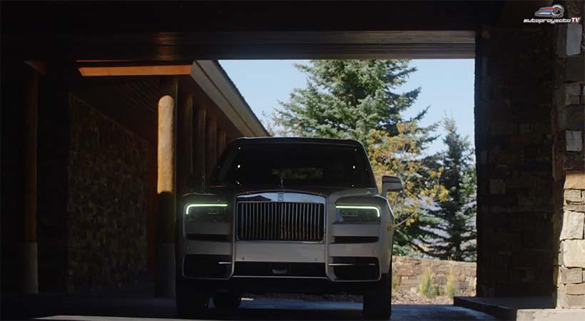 Video Test Drive Rolls-Royce Cullinan 2019, No Hay Nada Igual
