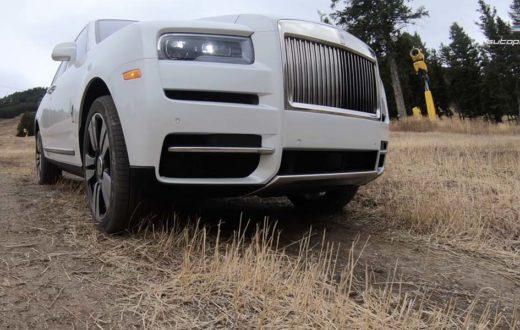 Primer vistazo Rolls-Royce Cullinan 2019