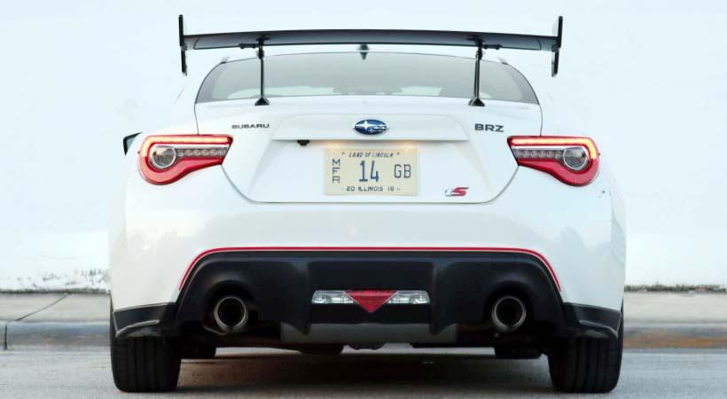 Test Drive Subaru BRZ tS 2018