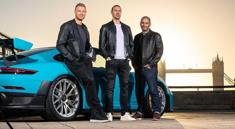 Top Gear dice adiós a Matt LeBlanc