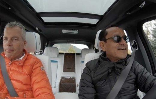 Test Drive Rolls-Royce Cullinan 2019