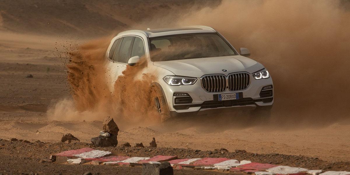 BMW Monza en el Sahara
