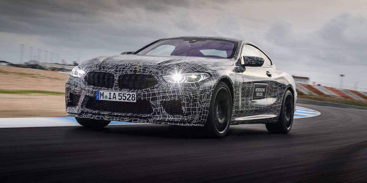 BMW confirma el M8
