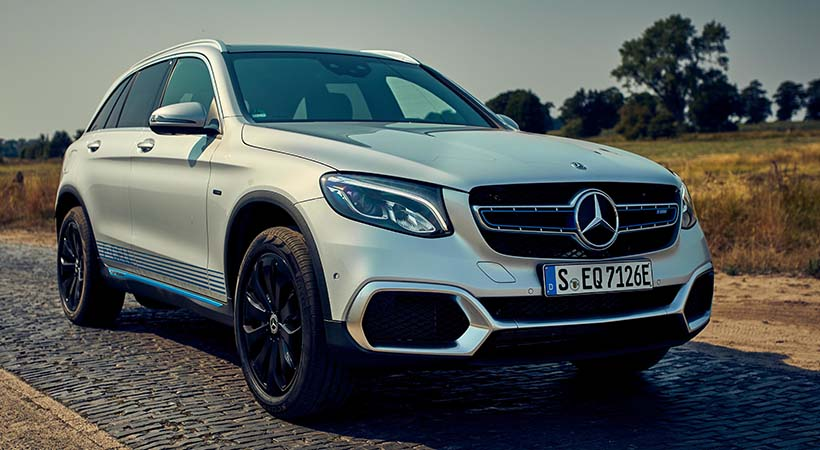 Debut Mercedes-Benz GLC F-CELL 2019
