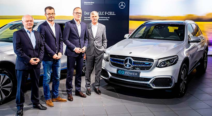 Mercedes-Benz GLC F-CELL 2019
