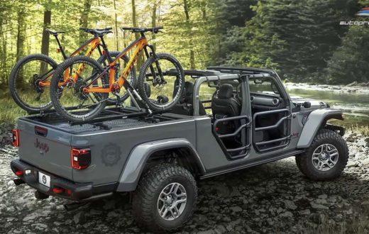 Jeep Gladiator con más de 200 partes MOPAR