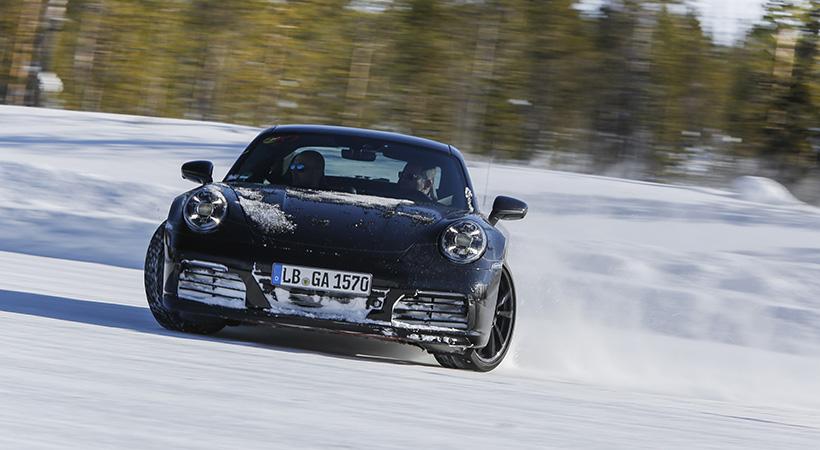 Test Porsche 911
