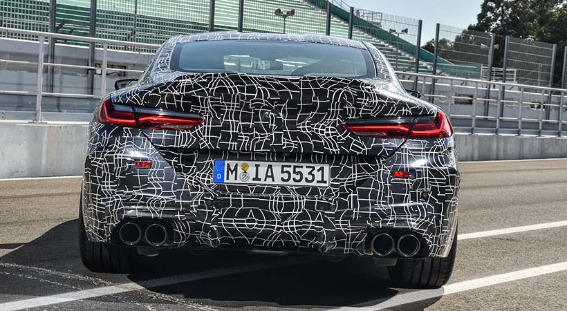 Test Drive final BMW M8 Coupé antes de su debut oficial