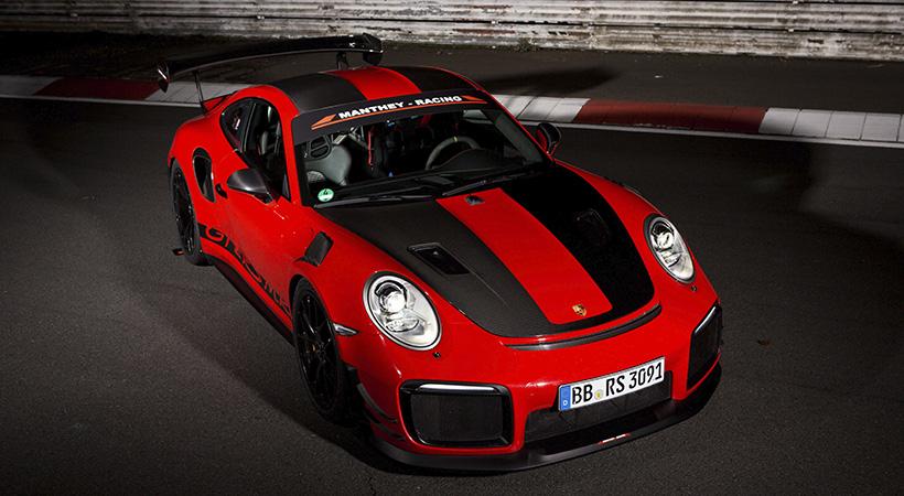 Récord Porsche GT2 RS MR en el Nürburgring Nordschleife