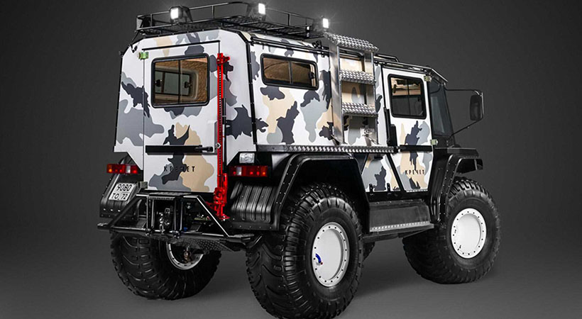 Technoimpulse Rocket Z, con motor central y capacidad off-road extrema