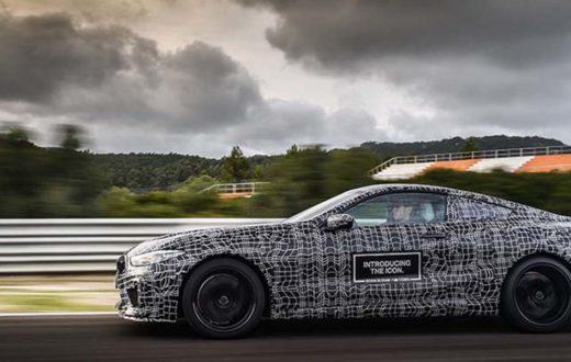 Test Drive final BMW M8 Coupé antes de su debut oficial