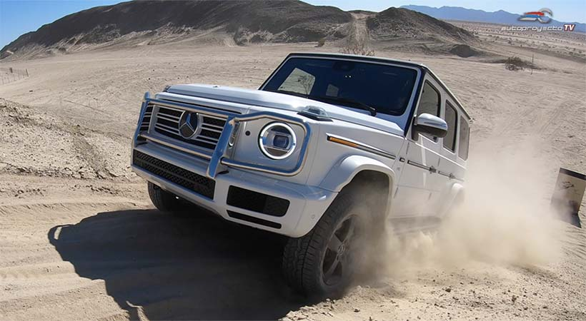 Video, Test Drive Mercedes-Benz G Class 2019 En El Desierto