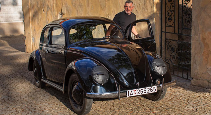 Volkswagen Beetle más antiguo, restauración increíble