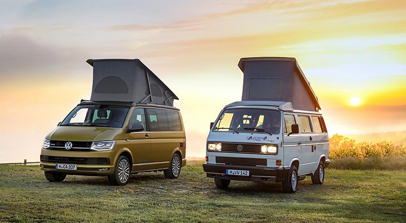 El Volkswagen California 30 aniversario es una edición especial de producción limitada a 999 unidades, al cumplirse tres décadas del camper que pese a su nombre nunca ha estado disponible en California o el resto de Estados Unidos.