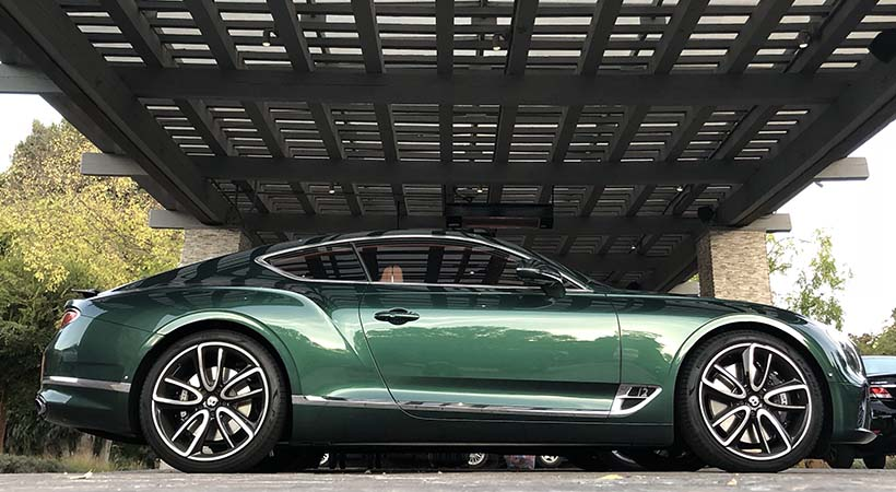 Test Drive Bentley Continental GT 2019