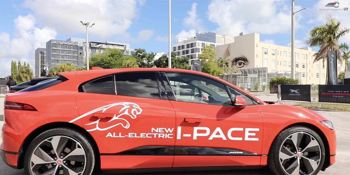 Video Test Drive Jaguar i-Pace 2019 en Miami con Roberto Guerrero